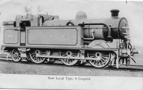 Branch Locos 1 Postcard