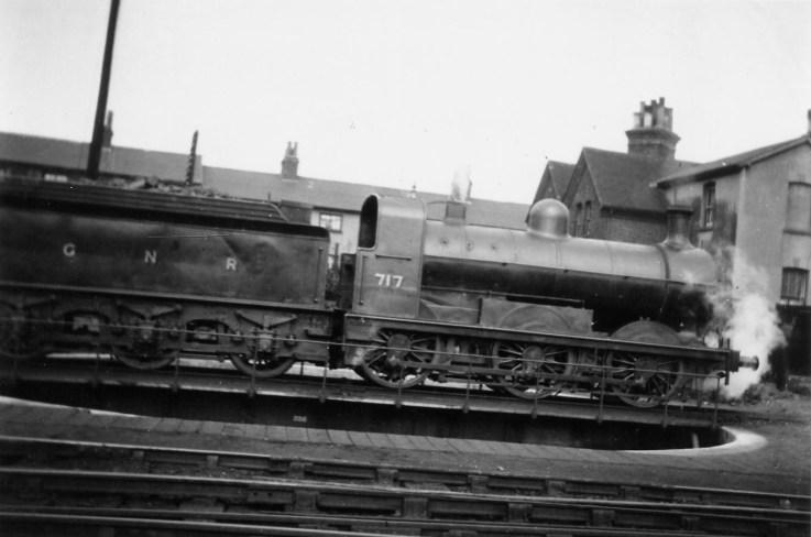 Branch Locos 4 J3 No 717 Hatfield 1922