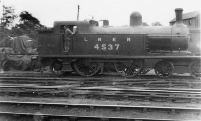 Branch Locos 7 C12 No 4537 Hatfield 1930s