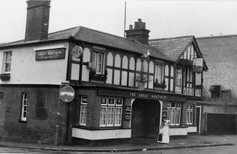 Great Northern Pub London Rd 1989