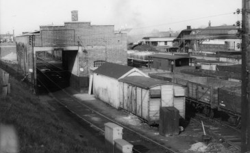 Hatfield Loco Shed just after closure 1961