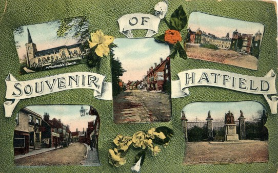 Hatfield Postcard
