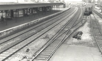 Hatfield looking North 1960