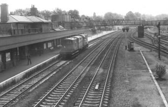 Hatfield looking South 1960