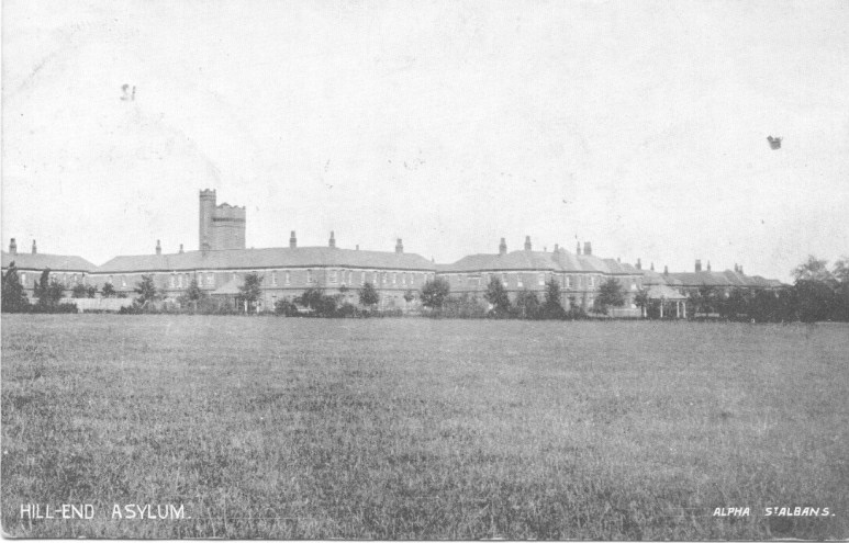 Hill End Asylum 1 POstcard 1923