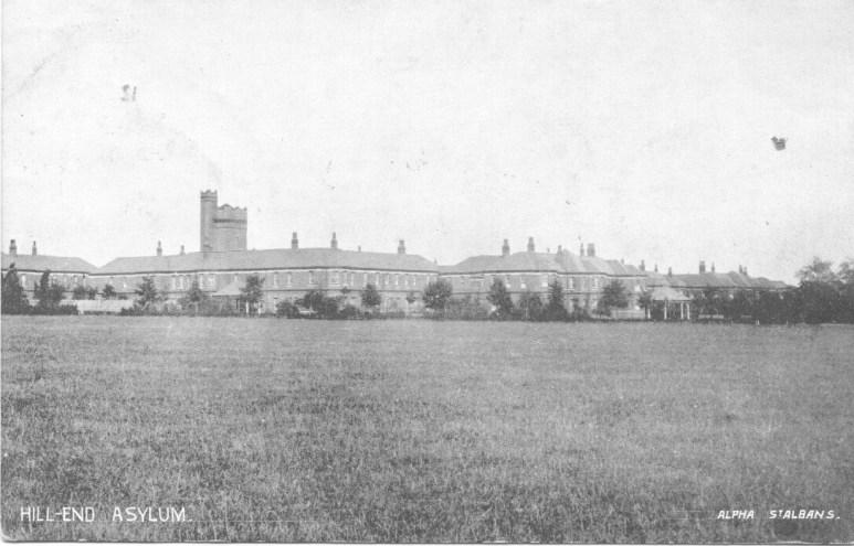 Hill End Asylum 1 POstcard 1923