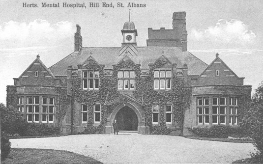 Hill End Asylum 3 Postcard