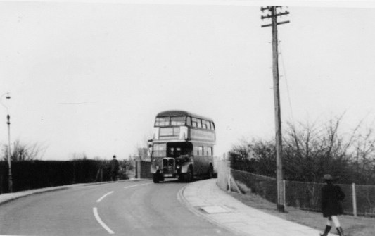 LT route 325 cottonmill Lane Bridge circa 1968