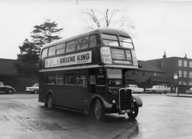 LT route 341 St A Hatfield at St A Garage early 60s