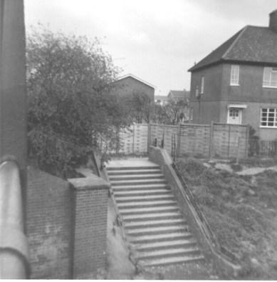 Lemsford Rd Halt Entrance 1968