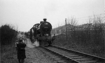 London Railtour March 1961 3 No 44575 at Hill End