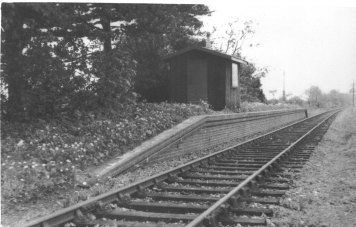 Nast Hyde Halt looking West 1962 - 18