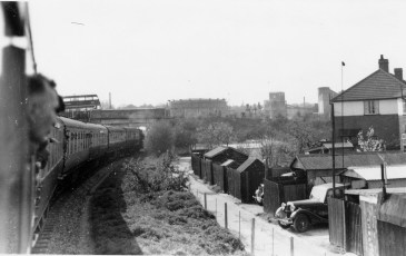 RCTS Railtour approachg Abbey Stn 1955 No 68878