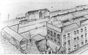 Salvation Army Siding 4 Printing Works Drawing 1900