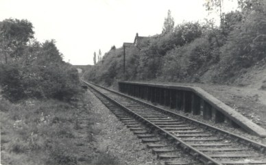 Sanders Halt 4 looking West 1962