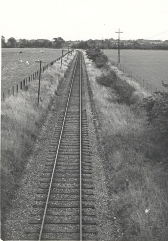 Smallford - 10 Looking East from Bridge 1967