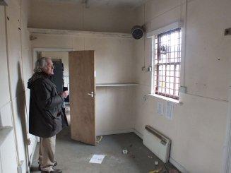 Smallford Station Interior March 2012