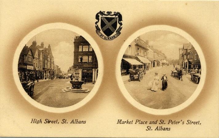 St Albans Edwardian postcard 2 ©