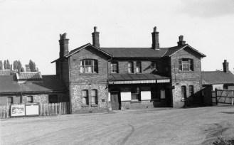 St Albans London Rd 15 Forecourt 1950
