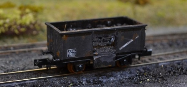 A typical 'common stock' coal wagon of the period.