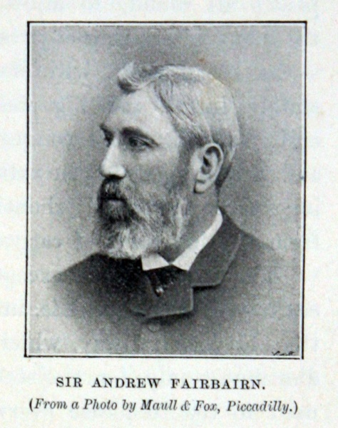 Sir Andrew Fairbairn in 1901