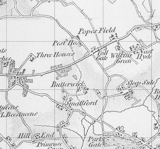 Dury & Andrews Map 1766