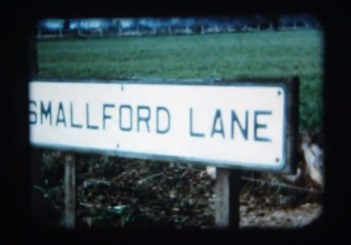 Smallford Lane Road Sign - 1968 Ron Kingdon film