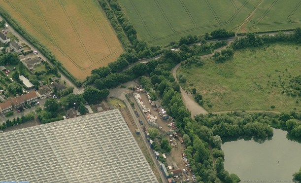 Smallford Station Aerial Photo - Bing Maps