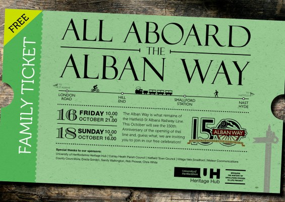Alban Way A5 Flier 150 Celebration CMYK 1mm