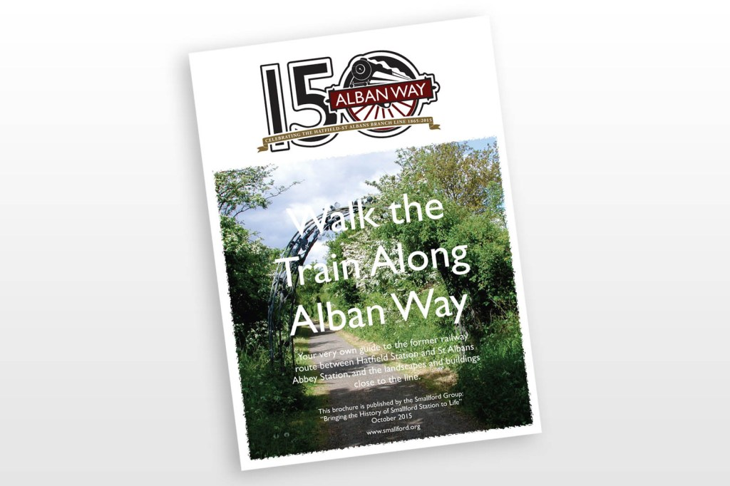 Walk the Train Along Alban Way - by Mike Neighbour