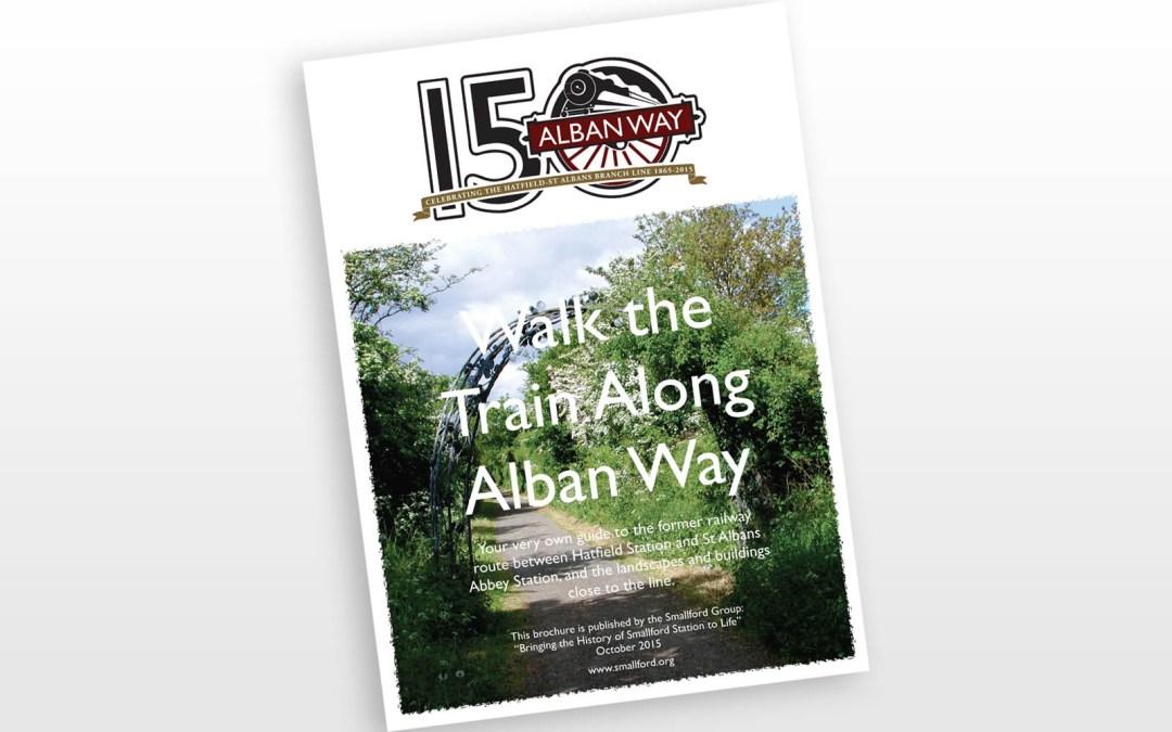 Walk the Train Along Alban Way