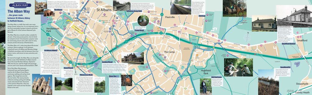 Updated Alban Way Leaflet