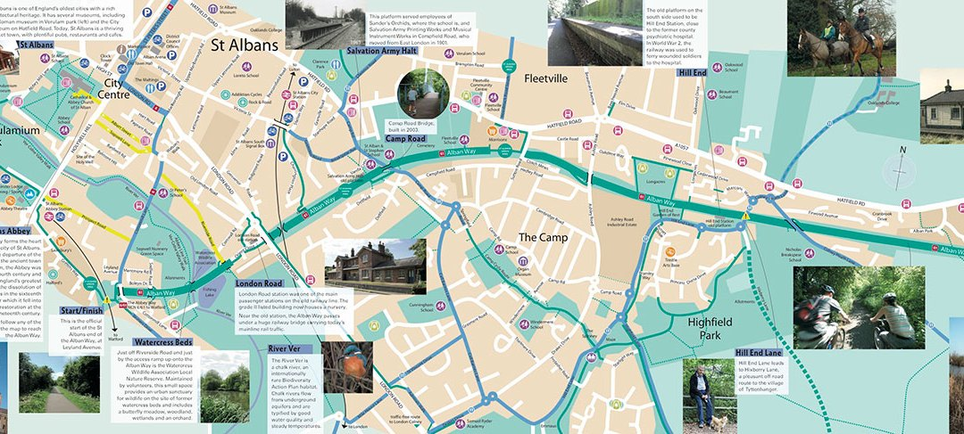 New Alban Way Leaflet