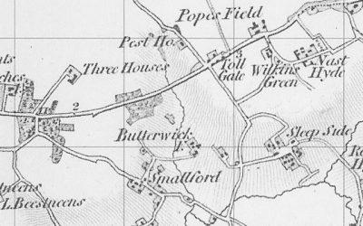 Original Settlement of Smallford