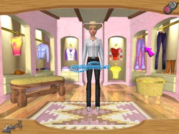 Барби - Приключения на Ранчо - полная версия » Мини игры ...