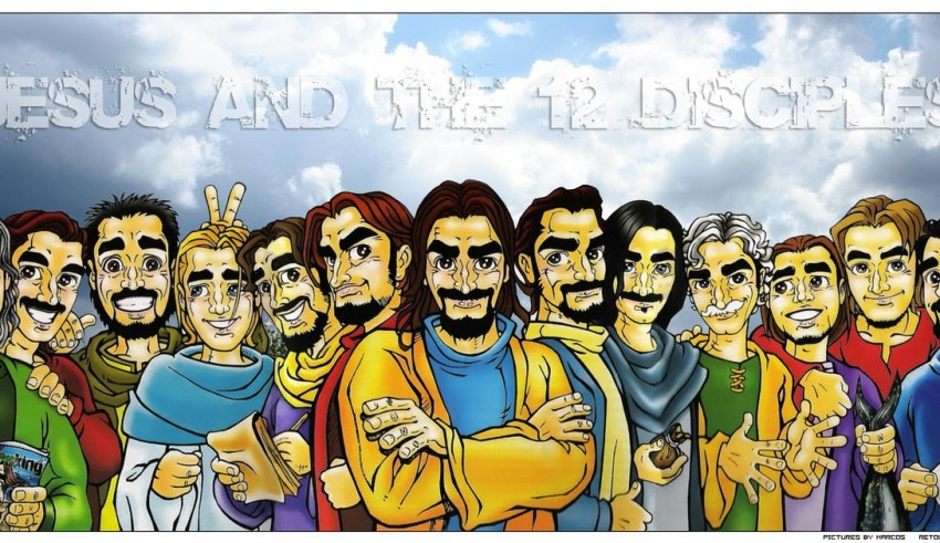 Jesus and the Disciples