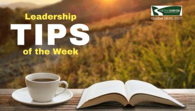Leadership TIP of the Week