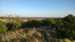 Palo Duro Canyon, from the top