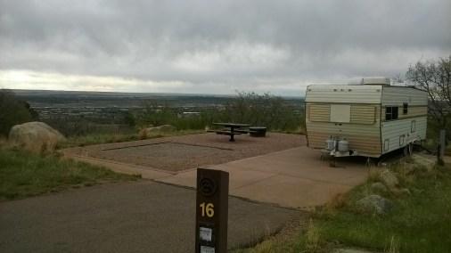 Cheyenne Mountain State Park Site #16