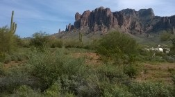 Superstition Mountains, Mesa, AZ