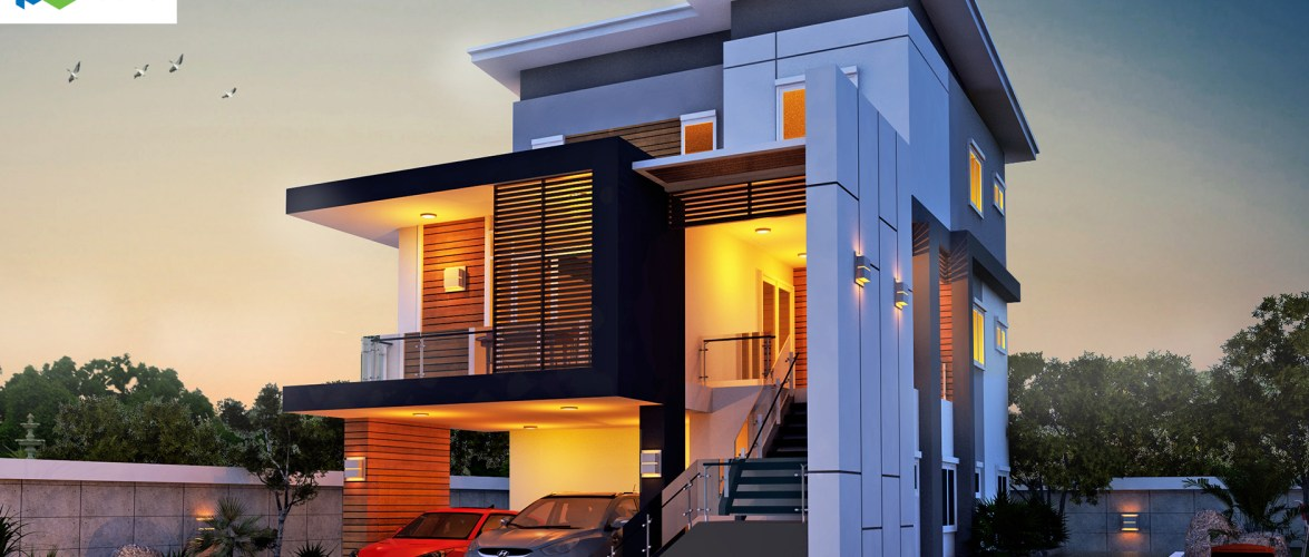 Modern House Plans 11×20.5 with 4 Bedrooms
