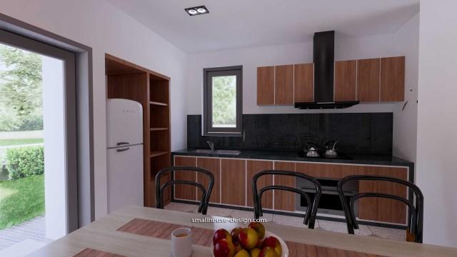 House Idea 6x8.5 PDF Full Plans Interior Kitchen 2