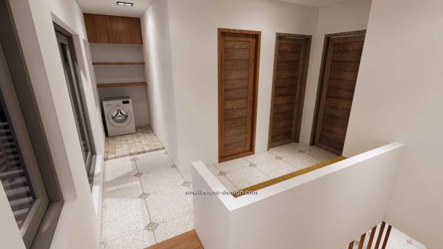 House Idea 6x8.5 PDF Full Plans Interior Washing Room