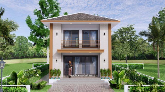 Small House Design 6x7.5 Meter 45 sqm 3