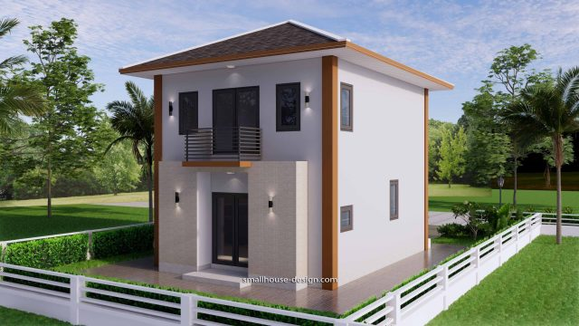Small House Design 6x7.5 Meter 45 sqm 6