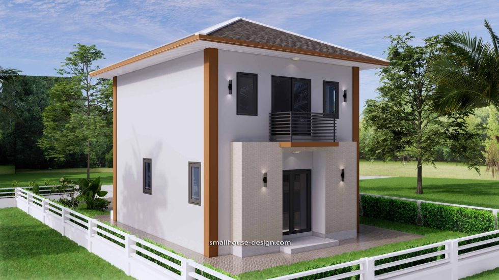 Small House Design 6x7.5 Meter 45 sqm 7