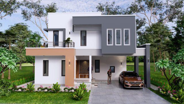 Small House Plan 11x15 M 36x49 Feet 5 Beds Full Plan 3d 2