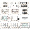 Small House Plan 8x12 M 27x40 Feet 2 Beds PDF Full Plans all
