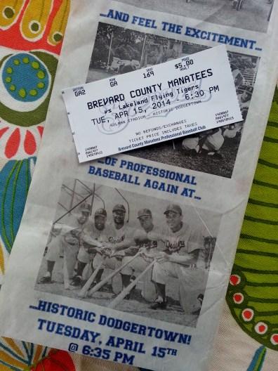 Ticket to Manatees vs Flying Tigers at Holman Stadium, 4/15/14