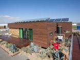 Harvest House, a 760 sq ft 1 bedroom wheelchair friendly house entered in Solar Decathlon 2013 | www.facebook.com/SmallHouseBliss